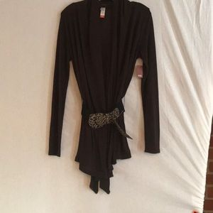 🔥SALE🔥NWT Women's Belted Cardigan